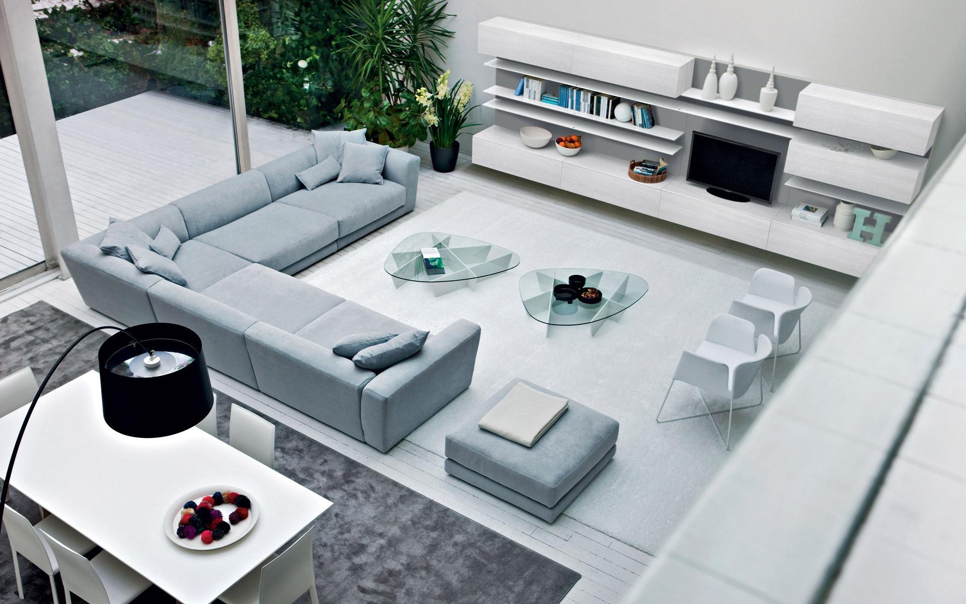 Arredo soggiorno moderno top arredamento soggiorno for Arredo soggiorno