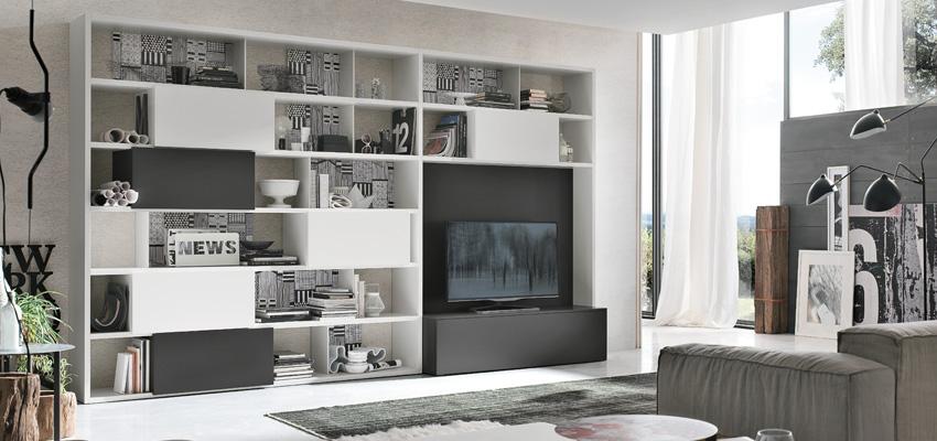 Negozio arredamento verona arredare il soggiorno in black for Arredare il soggiorno