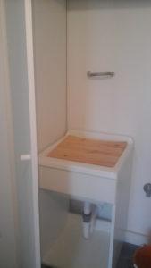 Armadio per lavanderia realizzato a misura 2