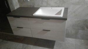 Mobile bagno realizzato a Pescantina 1