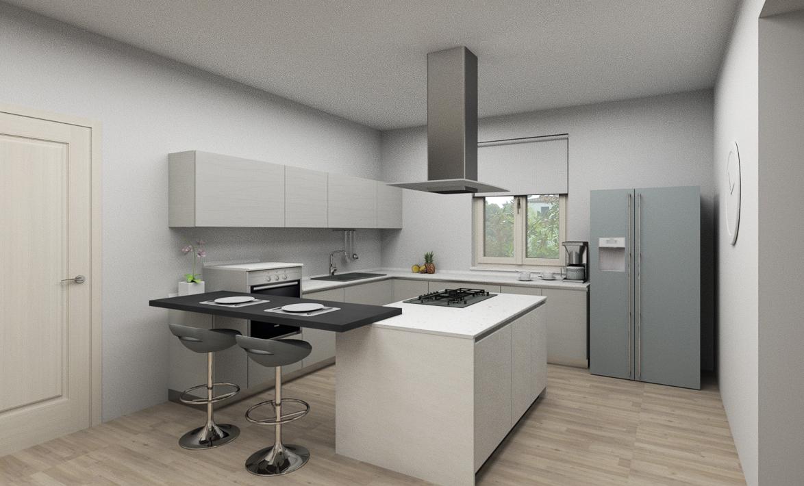 Legno Laccato Su Misura cucina su misura in legno laccato bianco okite bianco