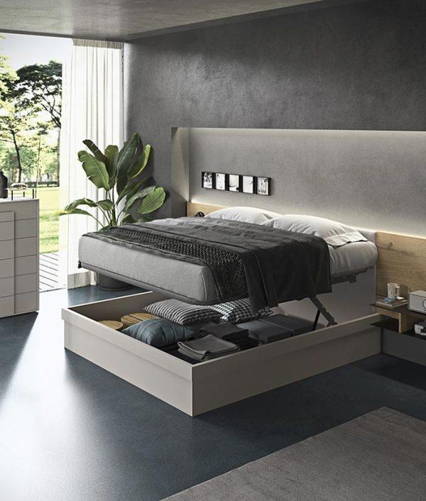 cinquepuntozero spazio notte contenitore letto air