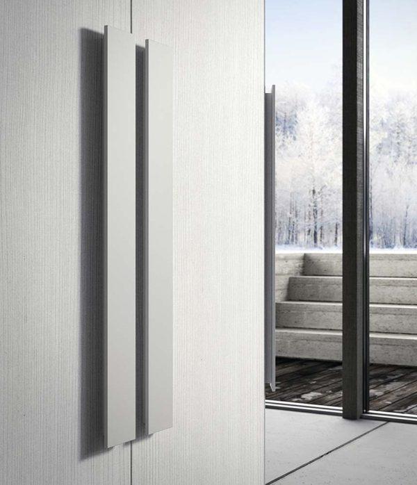cinquepuntozero spazio notte dettaglio maniglia armadio bianco